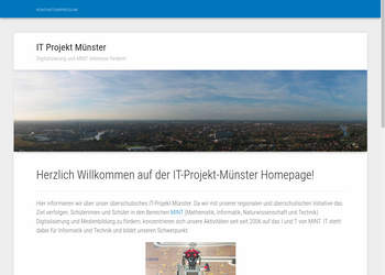 Screenshot von http://it-projekt-muenster.de/